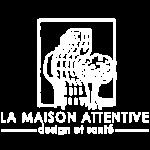 logo de la Maison Attentive blanc